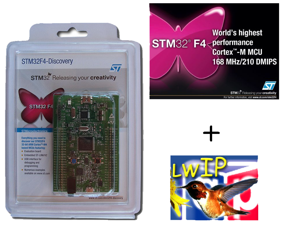 LwIP integrado ao demo do STM32F4 | Brazilian RTOS blog